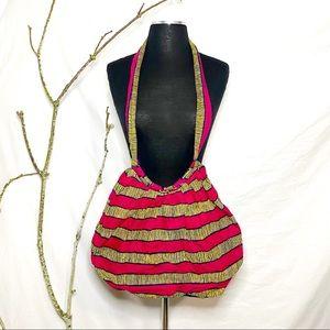 Della handmade in Ghana Cloth purse